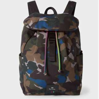 PAUL SMITH  Camo Backpack 背囊 袋 書包