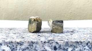 黃鐵礦石(又稱愚人金)