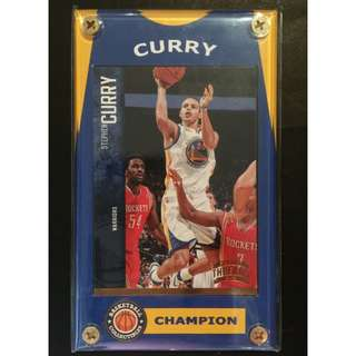 Stephen Curry Card Warriors NBA Steals Leader
