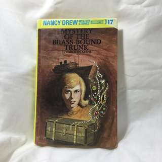 Nancy Drew: Mystery of the Brass-Bound Trunk by: Carolyn Keene