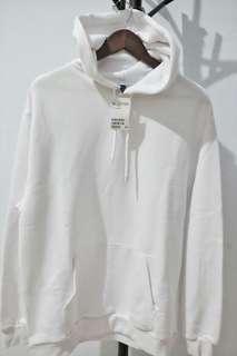 H&M Hoodie Original White size L