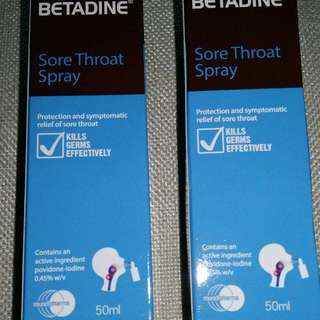 Betadine Throat Spray