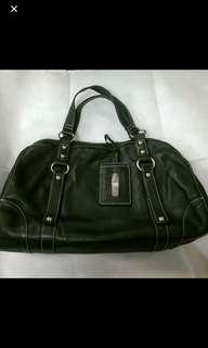 Bauhaus bag 黑色牛皮手袋