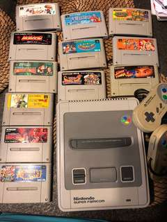 Nintendo Super famicom & games