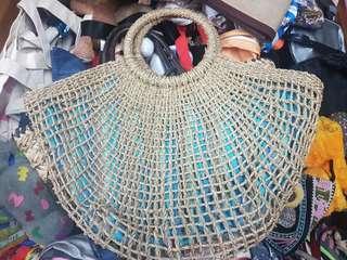 Large Rattan Bag