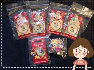 香港迪士尼襟章-愛麗斯Pingo pin