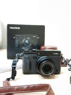 FUJIFILM X30 (BONUS SD CARD DAN LEATHER CASE)