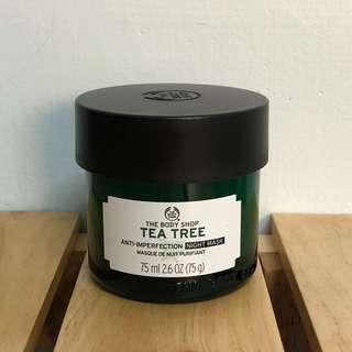 🚚 美體小舖 茶樹 晚安凍膜