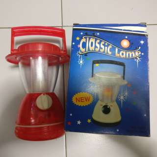 Portable Lamp Light for with Holder for outdoor / camping etc (Brand new in Box)