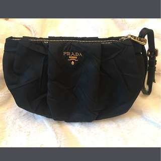 Authentic Prada bag/wristlet