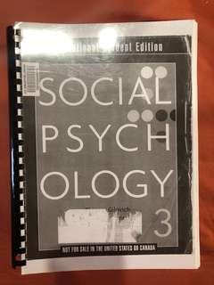 Social Psychology 3rd edition Gilovich