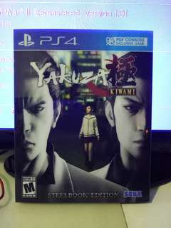 PS4 YAKUZA 0 + YAKUZA KIWAMI
