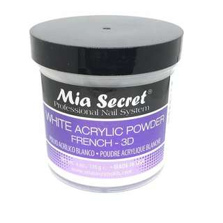 2 Oz Mia Secret Acrylic Powder Clear White