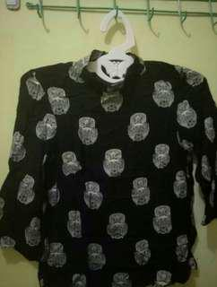 Blouse Owl by h&m