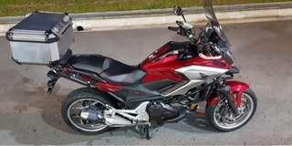 Honda NC750XLED for (Carry on Instalment)
