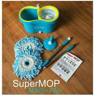Super MopBolden M-169X + Alat Pel Super Mop M-169X