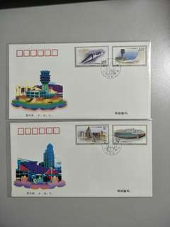 FDC 1998-28 Buildings in Macau
