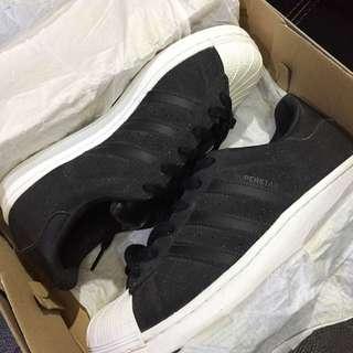 Adidas Superstar Glitter Black