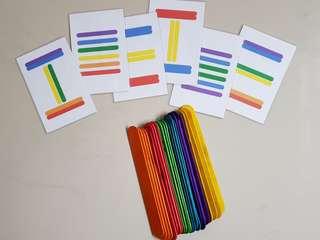 🚚 Popsicle Colour & Pattern Activity