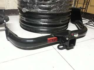 Ogp tow hitch for toyota avanza and buzzrack buzzybee h2