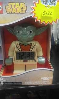 Lego alarm clock yoda