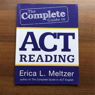 Erica L Meltzer ACT Reading