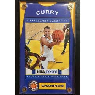 Stephen Curry Card NBA Golden State Warriors