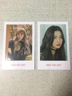 Red Velvet Wendy 2018 Season Greeting Polaroid