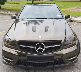 MERCEDES BENZ W204 C180 CGI AMG SPORTS TURBO ORI FACELIFT SUNROOF
