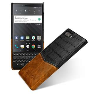 TETDED BlackBerry Key2 手工真皮保護殻📱