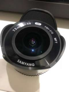 Samyang 8mm F2.8 UMC Fisheye for Olympus Panasonic MFT M43