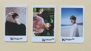 Wonwoo AL1 Photocard SEVENTEEN