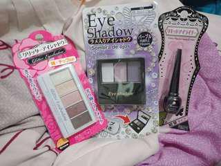 *free ongkir* Ellefar Daiso Makeup Eyeshadow and Eyeliner