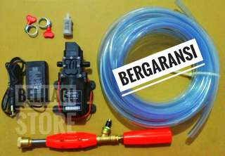 STEAM MINI alat cuci motor/mobil/ac Lengkap Bergaransi