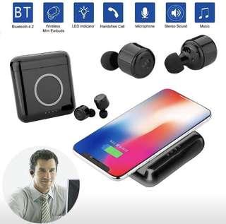 首款 X4T 無線藍牙雙耳機  配 5200mAh 無線充電盒  6 種顏色可供選擇