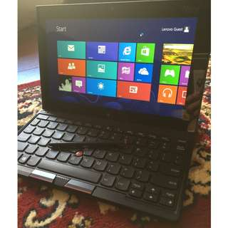 Selling Lenovo ThinkPad 2 and chargers