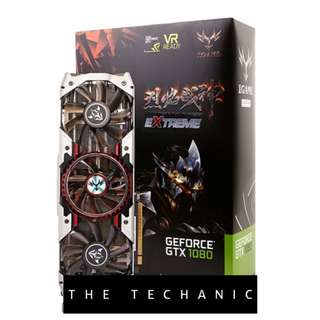 COLORFUL IGAME GEFORCE GTX1080 X TOP 8GB ADVANCED