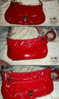 Coach Red Bag 💯%new 💯% Authentic