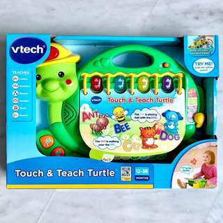 (In-Stock) VTech Touch and Teach Turtle Book (Brand New)