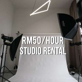 PHOTO/VIDEO STUDIO SPACE FOR RENT
