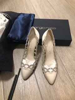 Sergio Rossi Wedding high heels shoes -結婚高跟鞋