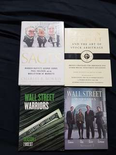 Warren Buffet Books & Wall Street CD