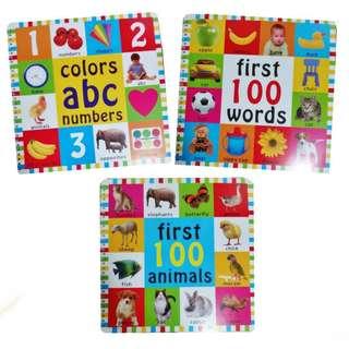 Jumbo Books for Kids - First 100 Books