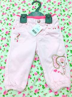 Mothercare pink safari pants