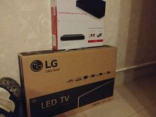 LG 22吋TV Mon加藍光碟機