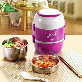 READY STOCK MULTI Mini Rice Cooker 3 Layer #july100 #july70