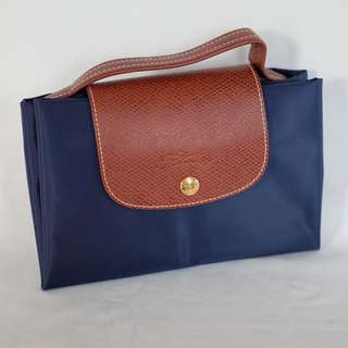 Original Longchamp Le Pliage Document Holder