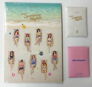 TWICE SUMMER NIGHTS DANCE THE NIGHT AWAY ALBUM ORIGINAL FROM KOREA!