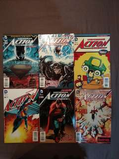 Action Comics 25-30 new 52