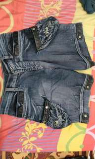 #maudecay Celana jeans pendek tebal